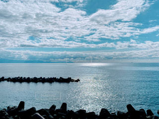 自然,風景,海,空,太陽,ビーチ,晴れ,水面,海岸,光