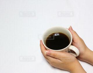 コーヒーでひと息の写真・画像素材[3693237]