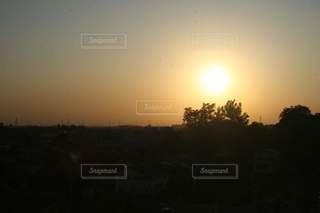 自然,風景,空,屋外,太陽,夕暮れ,光,樹木