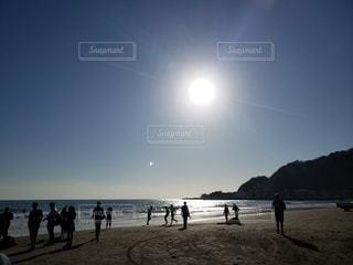 自然,風景,空,屋外,太陽,ビーチ,砂浜,光,夕陽