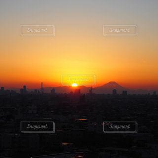 空,太陽,夕暮れ,光,日の入