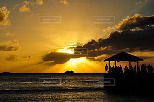 自然,風景,海,空,屋外,太陽,ビーチ,雲,夕暮れ,船,海岸,光,ハワイ,海外旅行