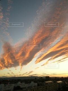自然,風景,空,夕日,屋外,太陽,雲,夕焼け,夕暮れ,夕方,光,クラウド