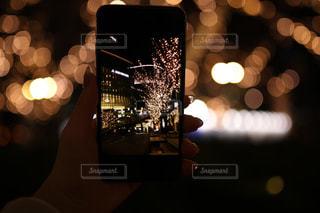 夜,夜景,イルミネーション,明るい,グランフロント大阪,シャンパンゴールド