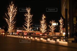 夜,夜景,屋外,イルミネーション,グランフロント大阪