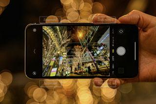 夜景,手,イルミネーション,明るい,グランフロント大阪,シャンパンゴールド