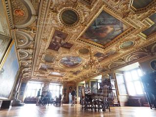 フレデリクスボー城の天井画の写真・画像素材[3135373]