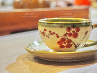 バッチャン焼きのティーカップの写真・画像素材[3143440]