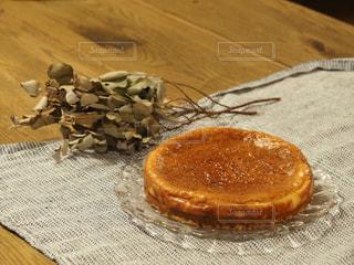 簡単手作りチーズケーキの写真・画像素材[3197723]