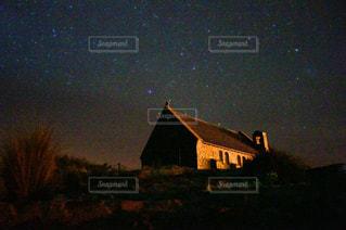 テカポ湖の星空の写真・画像素材[3457653]
