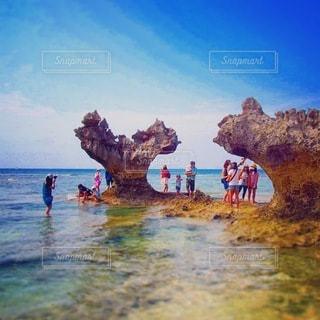 沖縄の海の写真・画像素材[3582156]