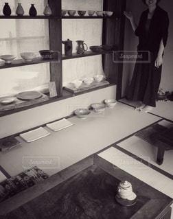 食器がたくさんの写真・画像素材[2906473]