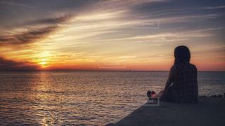 佐渡島の夕暮れの写真・画像素材[1269099]