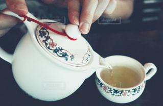台北でお茶の写真・画像素材[1426051]