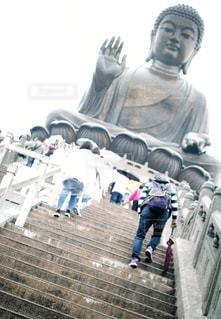 天壇大仏の写真・画像素材[2147341]
