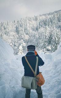 雪山撮影の写真・画像素材[2809882]