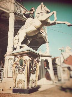 白馬の写真・画像素材[2906427]