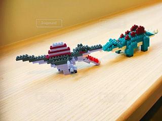 ミニブロック恐竜の写真・画像素材[2928993]