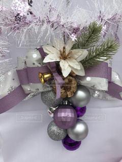 クリスマスリースの写真・画像素材[2845560]