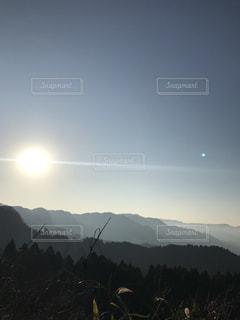 自然,風景,空,屋外,太陽,霧,山,光,日中,山腹