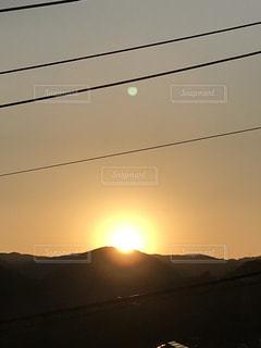 風景,空,屋外,太陽,朝日,山,光,日の出