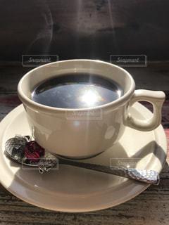 空,コーヒー,太陽,光,マグカップ,食器,カップ,コーヒー カップ