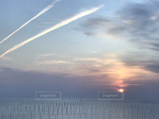 自然,風景,海,空,屋外,太陽,雲,水面,光