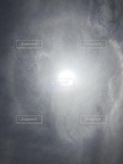 空,太陽,雲,光,輪っか