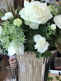 花束をの写真・画像素材[4179591]