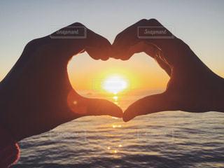 空,太陽,ビーチ,夕焼け,アメリカ,光,サンセット,サンタモニカ,カリフォルニア