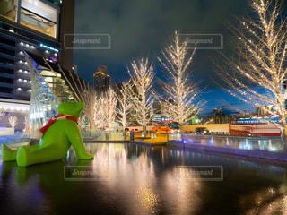 風景,夜景,綺麗,街,イルミネーション,都会,キラキラ,梅田,大阪駅,アンバサダー,グランフロント大阪,おすすめスポット,お出かけスポット,シャンパンゴールド