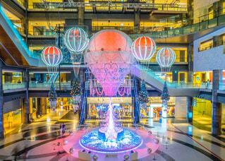 気球,イルミネーション,クリスマス,世界旅行,グランフロント大阪,グランフロントクリスマス,Winter Voyage Tree,ナレッジプラザ