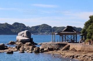 白石の鼻巨石群 龍神社の写真・画像素材[3568773]
