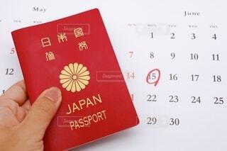 パスポートの写真・画像素材[3670640]