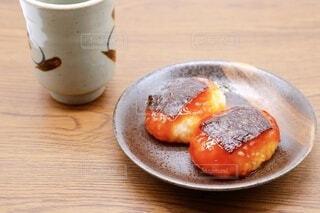 磯辺餅 醤油餅と海苔の写真・画像素材[3864075]