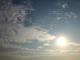 空,太陽,雲,夕暮れ,光