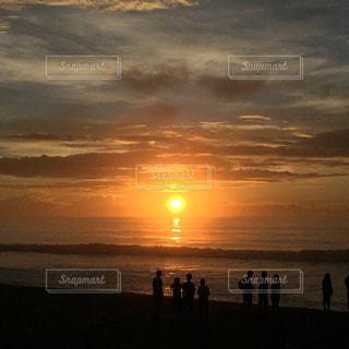 自然,空,夏,太陽,ビーチ,雲,夕暮れ,光,日の出,クラウド