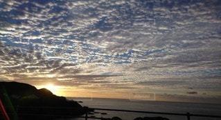 空,太陽,朝日,雲,光,朝焼け