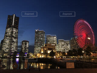 横浜 夜景の写真・画像素材[4161866]