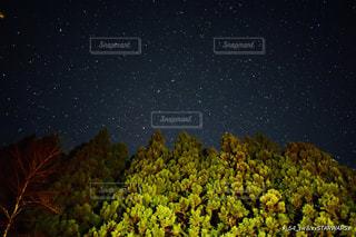 満天の星空の写真・画像素材[3141601]