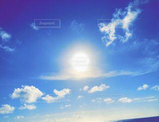 空,屋外,太陽,雲,青,光,日中