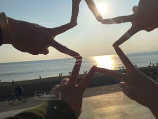 空,太陽,ビーチ,光