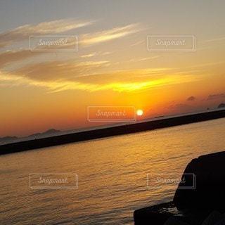 自然,海,空,屋外,太陽,ビーチ,水面,海岸,光,日の出