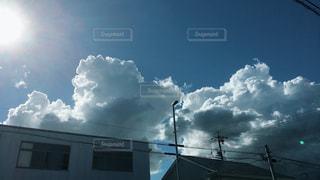 空,屋外,太陽,雲,光,景観,日中