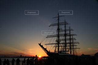 帆船の写真・画像素材[2881555]