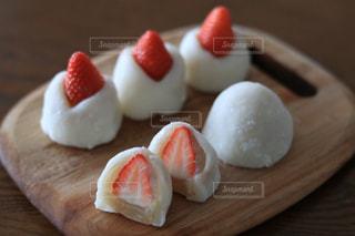 苺大福の写真・画像素材[2968157]