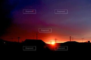 風景,空,太陽,朝日,ベランダ,夜明け,光,日の出