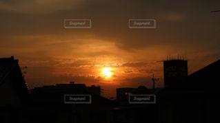 風景,空,屋外,太陽,夕暮れ,光,景観