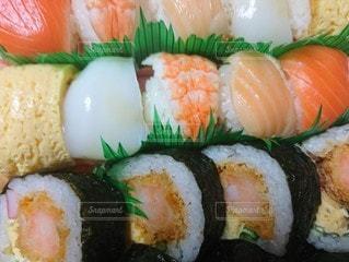 寿司のクローズアップの写真・画像素材[2996971]
