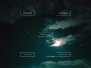 非常に暗い水の写真・画像素材[3716898]